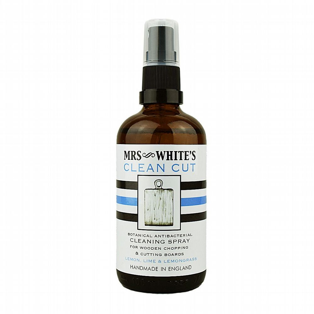 Mrs White's Clean Cut - Antibacterial Chopping Board Oil 100ml